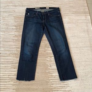 AG Slim/Straight Crop Jean